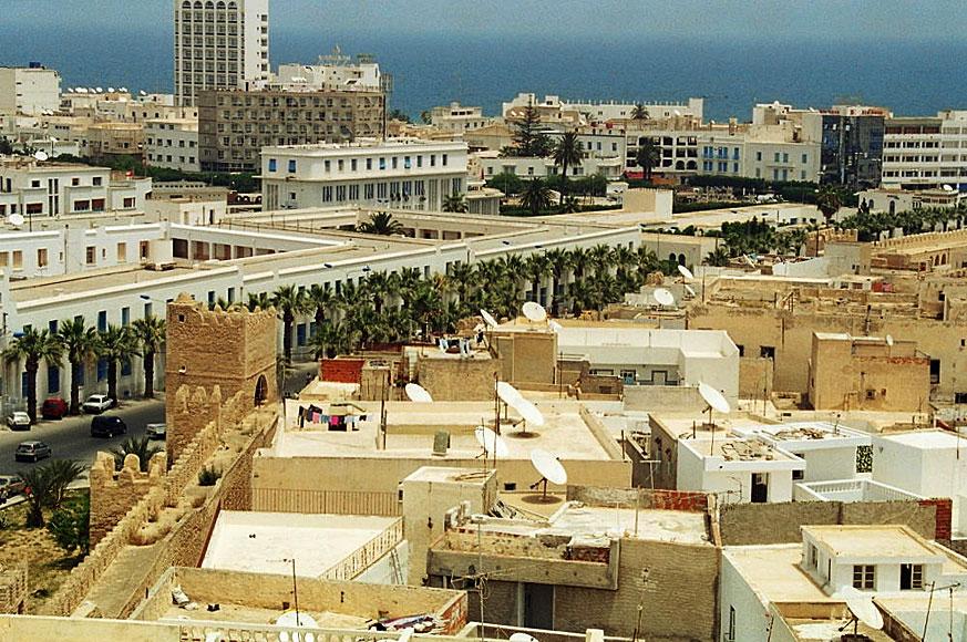 widok na Sousse