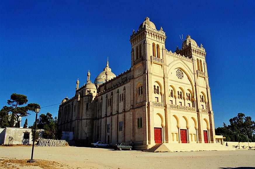 katedra św. Ludwika na wzgórzu Byrsa, Kartagina
