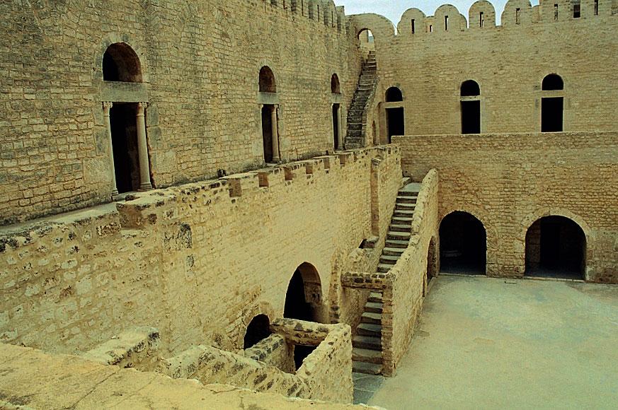 Sousse. Ribat - obronny klasztor.