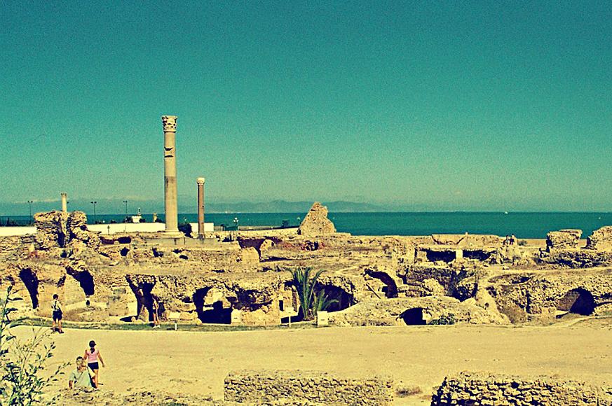 termy Antoninusa Piusa w Kartaginie, II w.
