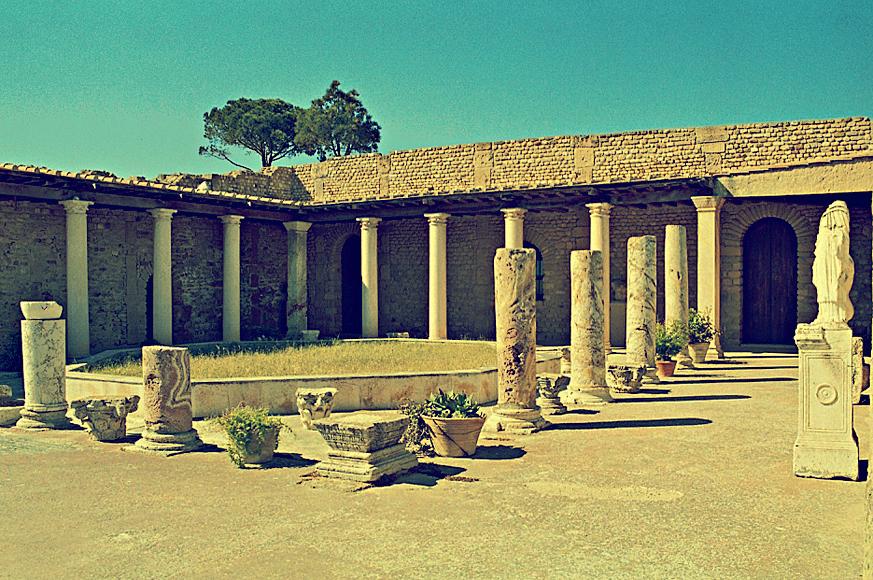 ruiny rzymskiej willi, Kartagina