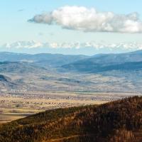 Beskid Śląski. Szyndzielnia, Klimczok, Magura i widoki, aż po samiuśkie Tatry