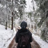 Błatnia, wiosenno-zimowe starcie w Beskidzie Śląskim