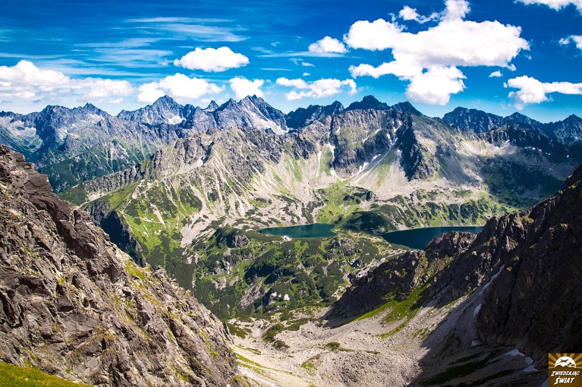 Tatry. Granaty i Buczynowe Turnie - najbardziej widokowy odcinek Orlej Perci