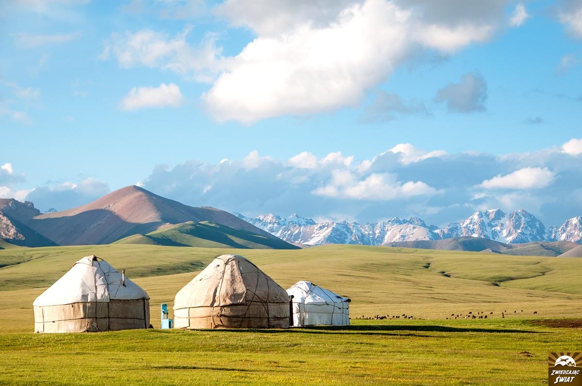 Kirgistan. Jezioro Songköl