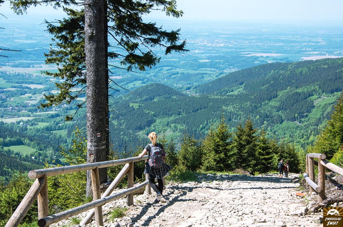 Beskid Śląsko-Morawski. Łysa Góra (Lysá hora) i wodospady Satiny