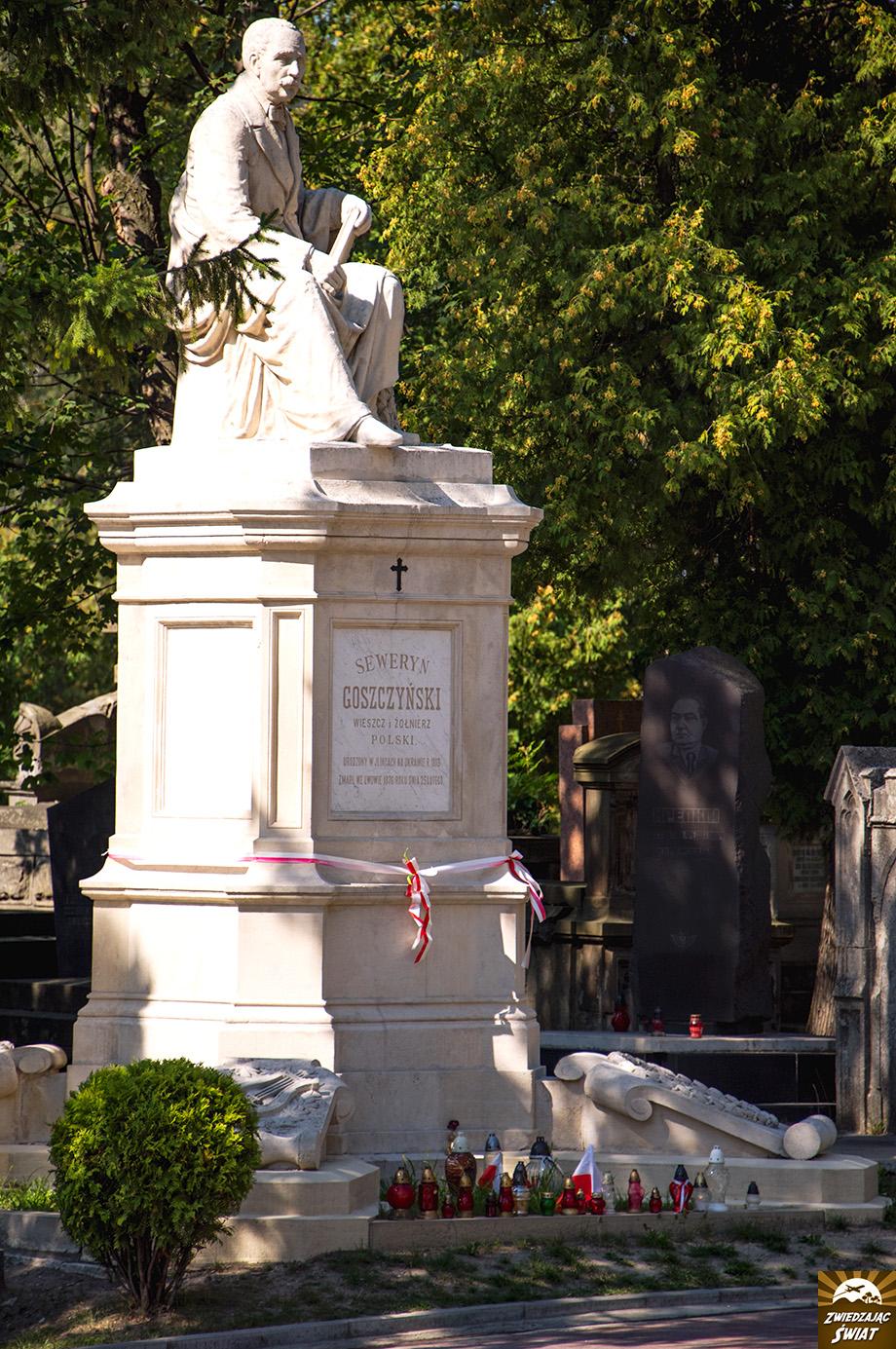 miejsce pochówku Seweryna Goszczyńskiego, XIX-wiecznego poety i działacza politycznego