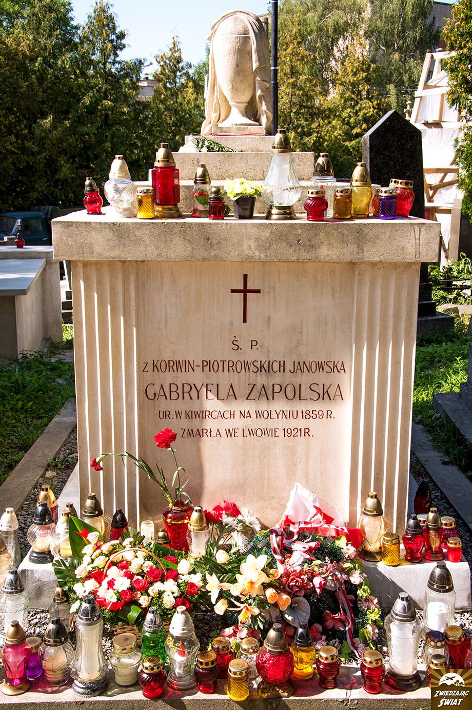 sarkofag Gabrieli Zapolskiej