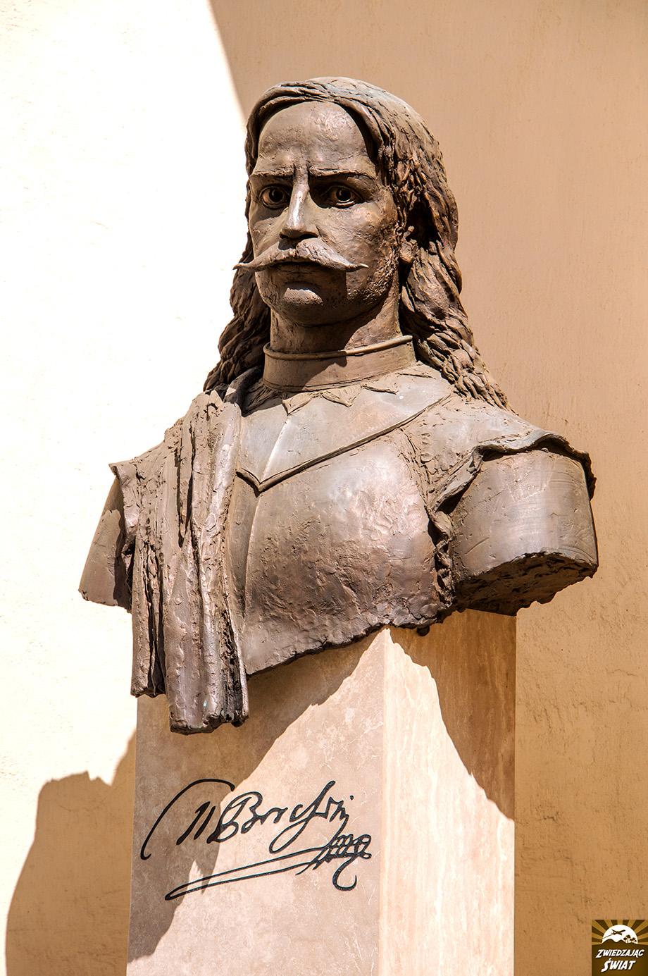 Miklós Bercsényi popiersie, Użhorod
