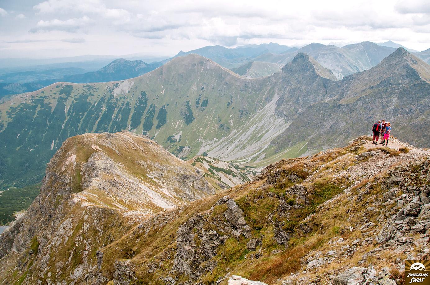 szlak na Hrubą Kopę