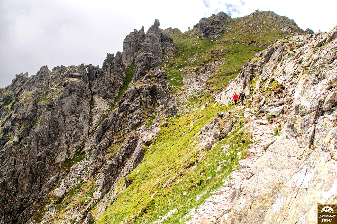 w drodze na Szpiglasowy Wierch