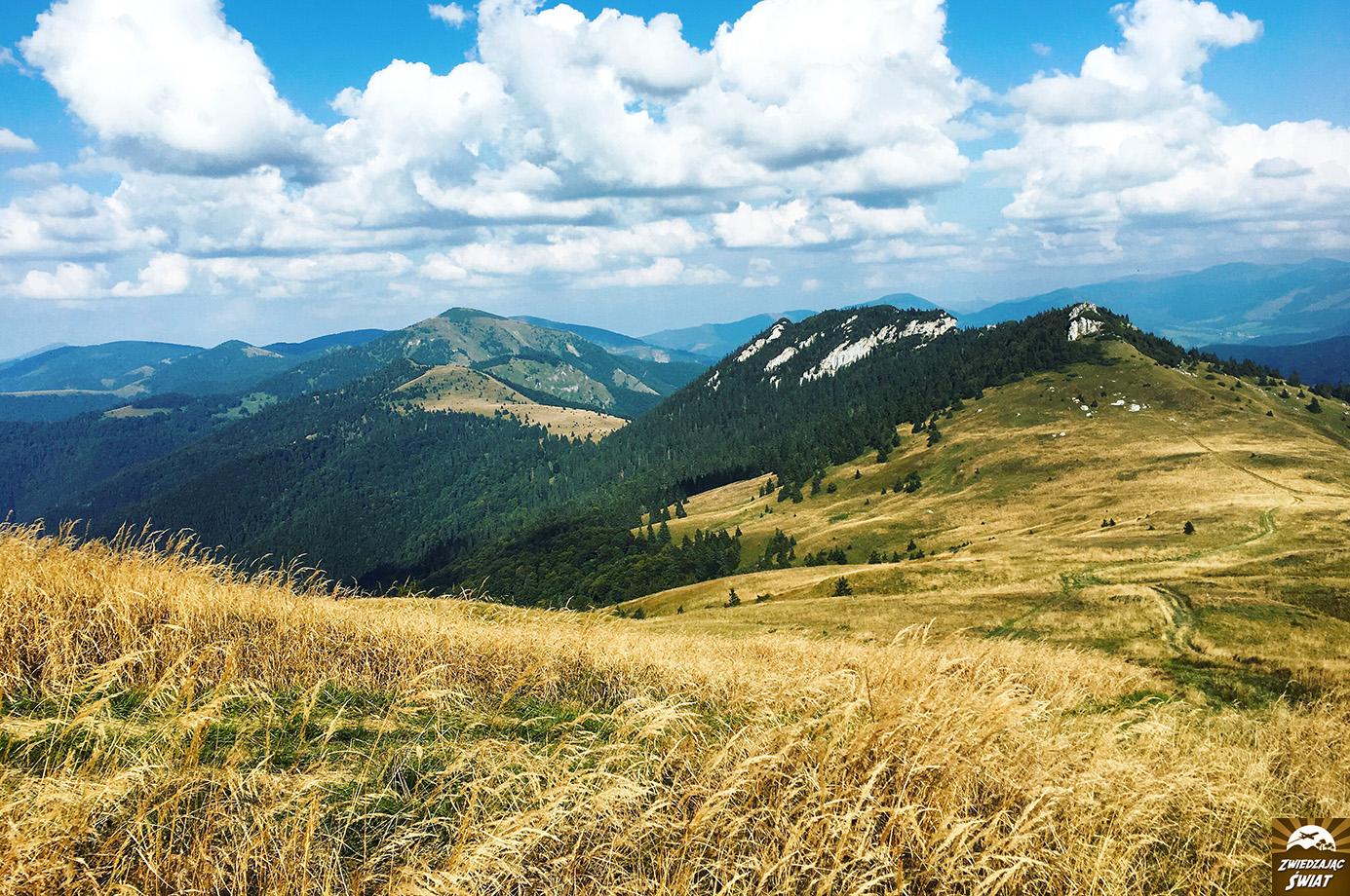 szlak z Ploski, Wielka Fatra, Słowacja