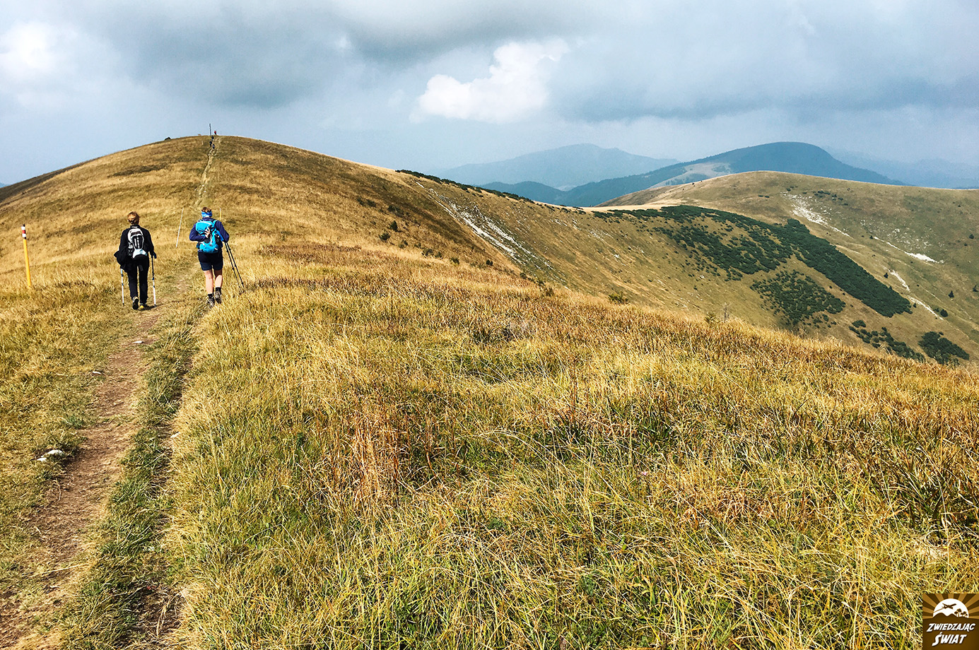 szlak Ostredok-Suchý vrch, Wielka Fatra, Słowacja