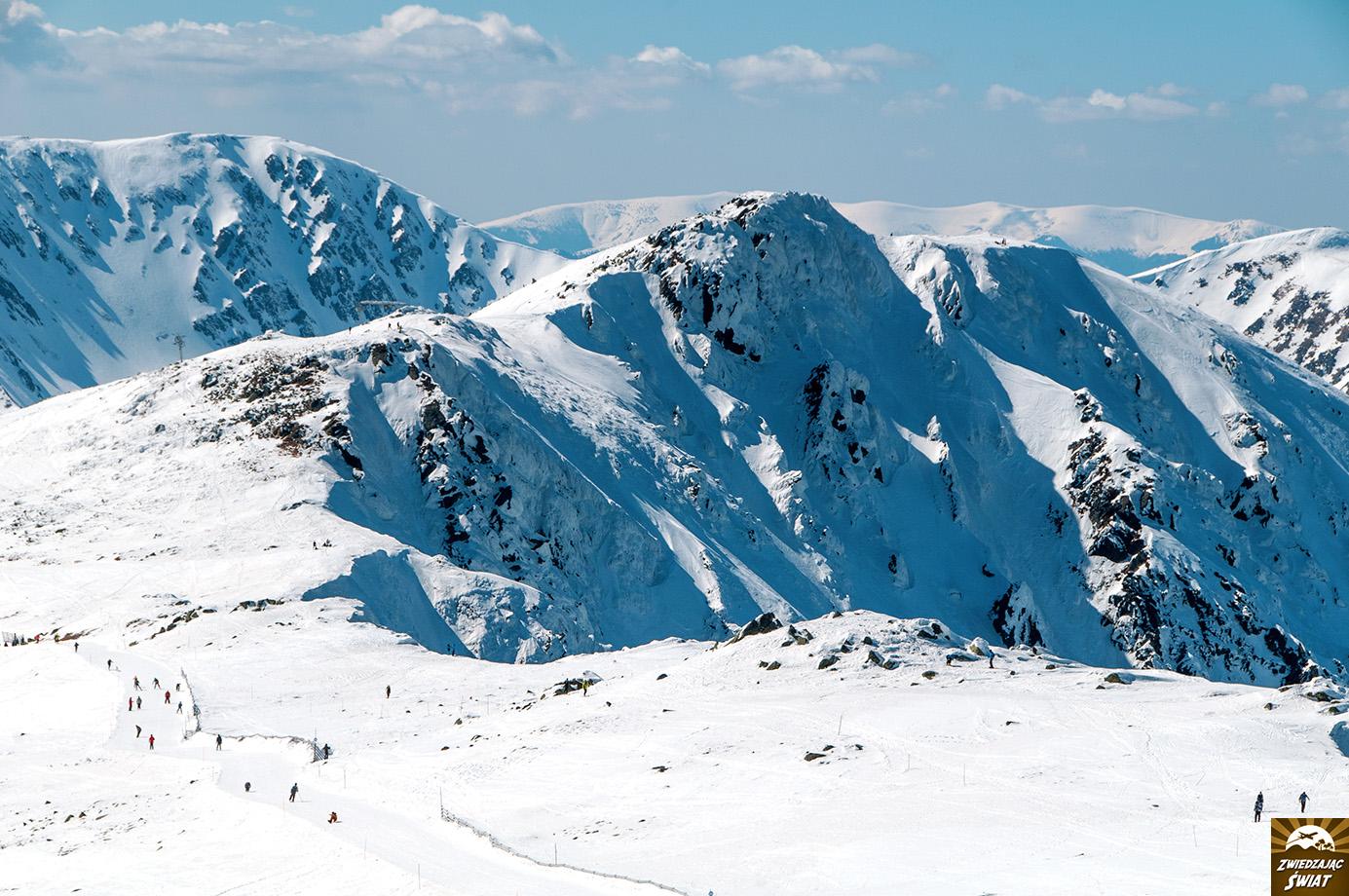 Tatry Niżne, Chopok, widok ze szczytu