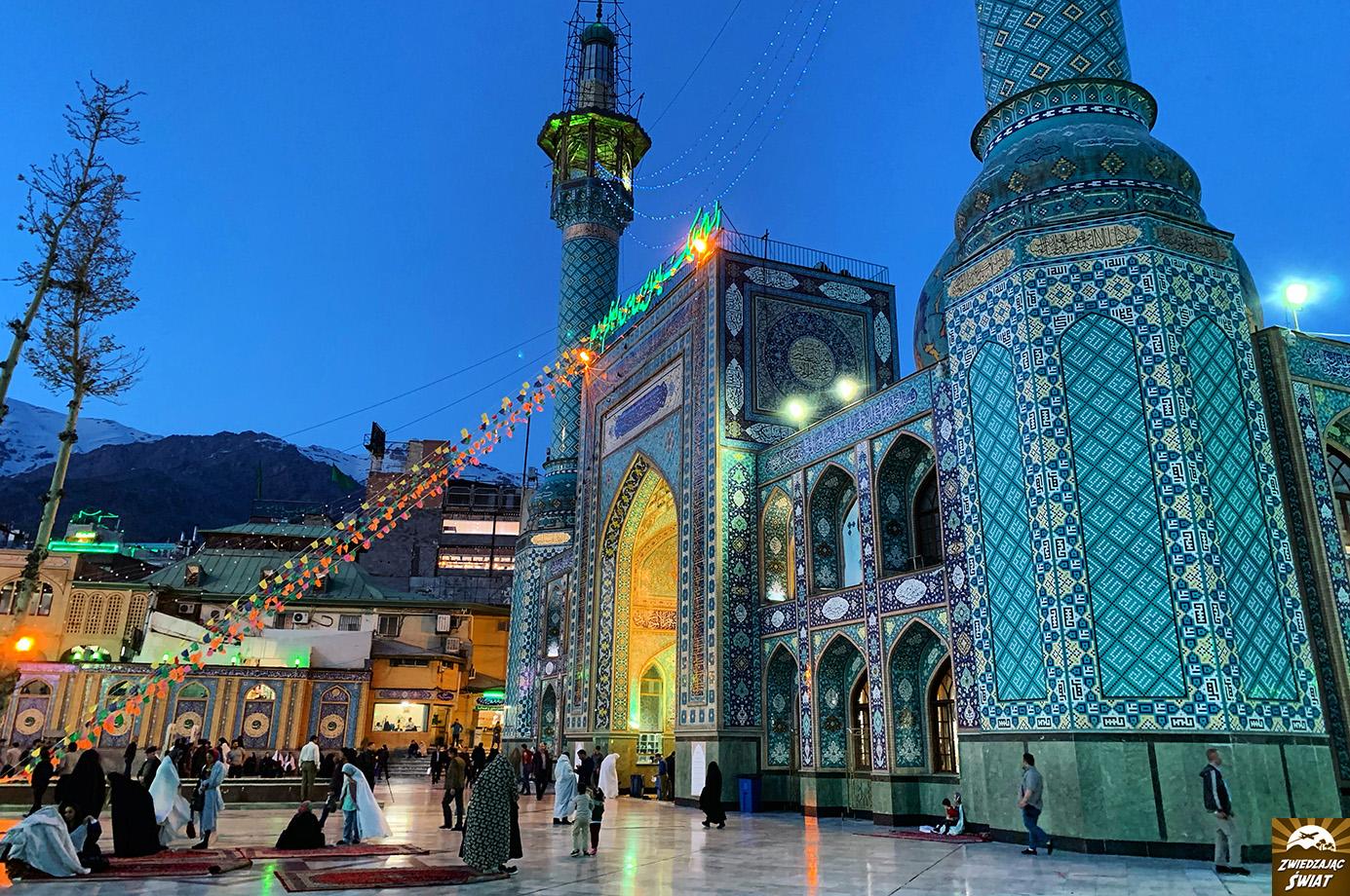 Meczet Imamzadeh Saleh, Teheran, Iran