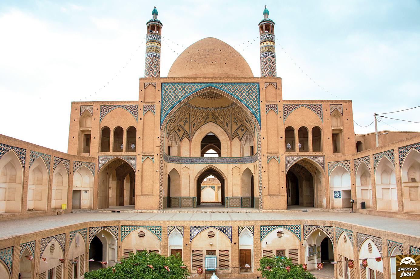 Meczet Agha Bozorg, Kaszan, Iran