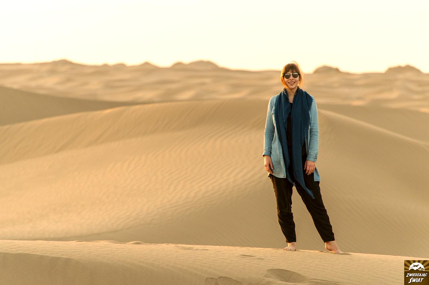 pustynia w okolicy Jazd, Iran