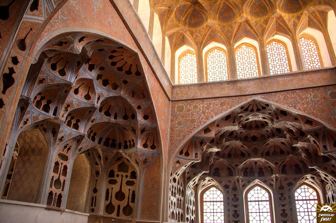 Pałac Ali Qapu, Isfahan, Iran
