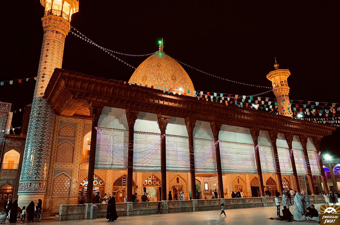 Mauzoleum Shah Cheragh, Sziraz, Iran