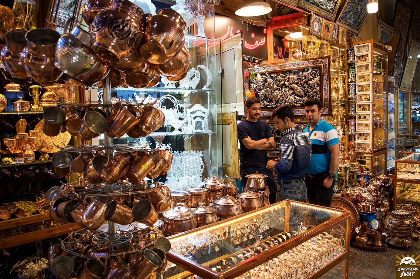 bazar w Isfahan, Iran